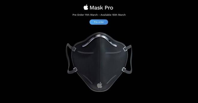 Ý tưởng khẩu trang Apple phòng dịch Covid-19, có giá từ 99 USD-1