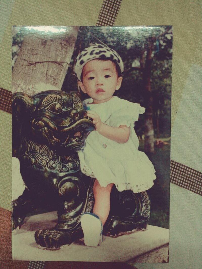 'Cậu bé' Thanh Sang ngày còn nhỏ