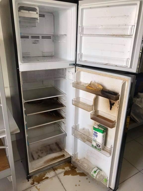 Comeback KTX ĐHQG, nữ sinh tức giận vì tủ lạnh đắt tiền bị người cách ly phá hoại: Nhân cách bẩn nên cho vào thùng rác!
