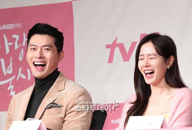Hyun Bin vàSon Ye Jin của phim 'Hạ cánh nơi anh'