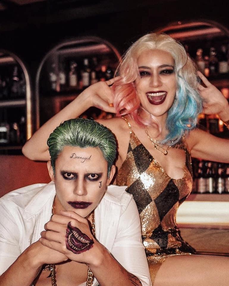 Mark và Kimmy bất ngờ hóa thân thành cặp đôi Joker-Harley Quinn khiến fan phải 'bái phục' vì quá đỉnh