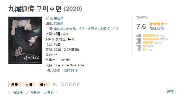 'Bạn trai tôi là hồ ly' trong mắt khán giả Trung Quốc: Nội dung cũ rích, giống vô vàn phim khác, ngắm Lee Dong Wook là chính! 1