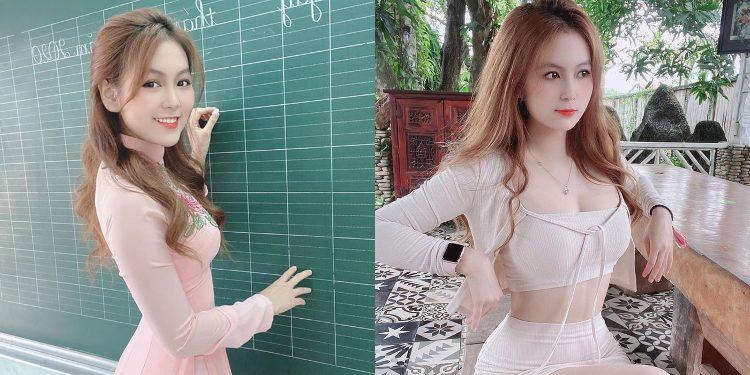 """Hot girl bỏ nghề mẫu nội y trở thành """"cô giáo hot nhất Sài thành"""" là ai?"""
