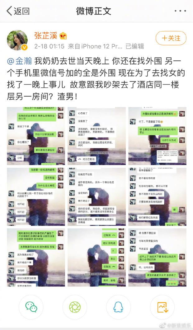 Bài đăng bóc phốt Kim Hạn của bạn gái hơn 6 tuổi